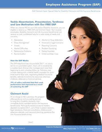 Employee Assistance Program (EAP) - National Insurance Services