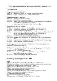 Programm und Aufstellung Springprozession 2011 am 14.06.2011 ...
