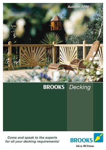Decking - Brooks
