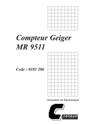 Compteur Geiger MR 9511 - nl3prc