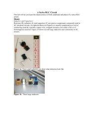 A Series RLC Circuit