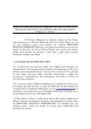Clique aqui e confira o edital completo - Prefeitura Municipal de ...
