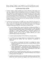 Système statistique au Bénin : analyse SWOT au ... - Capacity4Dev
