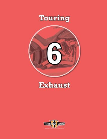 Exhaust Touring - Custom Chrome