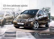 125 éves jubileumi ajánlat. - Mercedes-Benz Magyarország