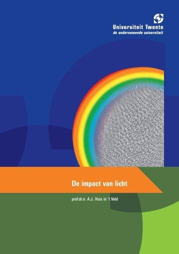 De impact van licht - Universiteit Twente