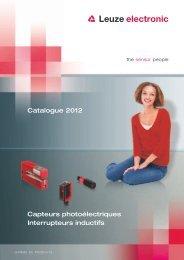 Capteurs photoélectriques Interrupteurs inductifs ... - Leuze electronic