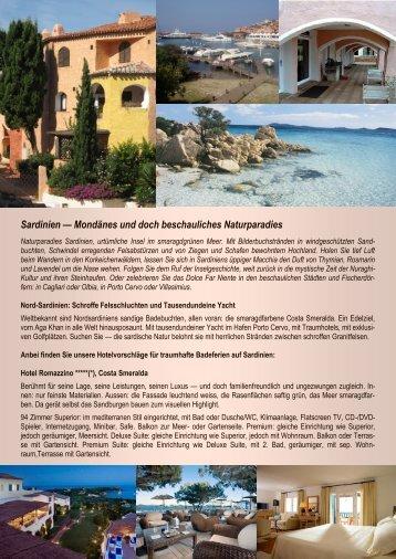 Sardinien — Mondänes und doch beschauliches Naturparadies