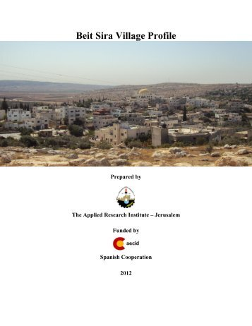 Beit Sira Village Profile - ARIJ