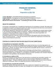 EDHEC 2 - Centre International d'Antibes
