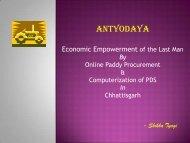 Economic Empowerment by Paddy Procurement: Smt. Shikha Tyagi