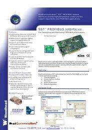 SST™ PROFIBUS Interfaces - ER-Soft