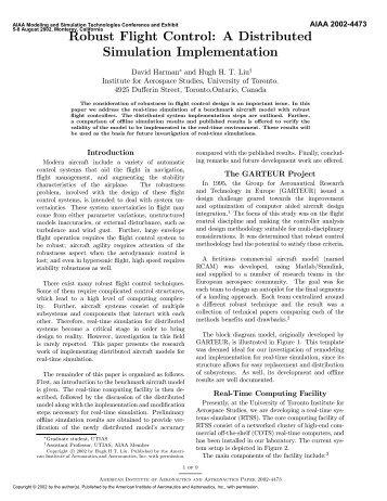 PDF (655 KB) - AIAA - American Institute of Aeronautics and ...
