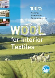 Wool for interior textiles - IWTO