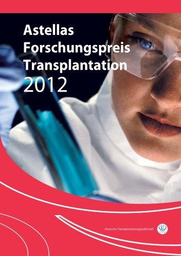 Astellas Forschungspreis Transplantation