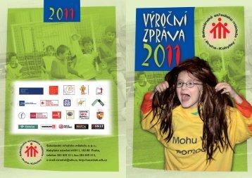 Výroční zpráva roku 2011 - Salesiánské středisko mládeže Kobylisy