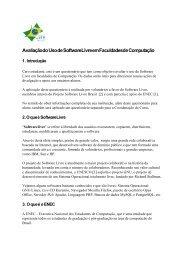 Avaliação do Uso de Software Livre em Faculdades de ... - Wiki-SL