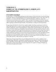 Vedlegg 1: Forslag til endringer i læreplanen - Legeforeningen