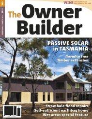 PASSIVE SOLAR in TASMANIA - The Owner Builder
