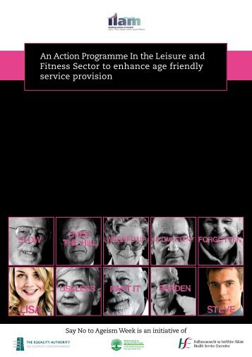 An Action Programme In the Leisure and Fitness ... - Equality Authority