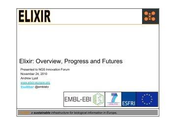 Elixir: Overview, Progress and Futures - Janet