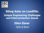 Siting Solar on Landfills: Ellen Ebner