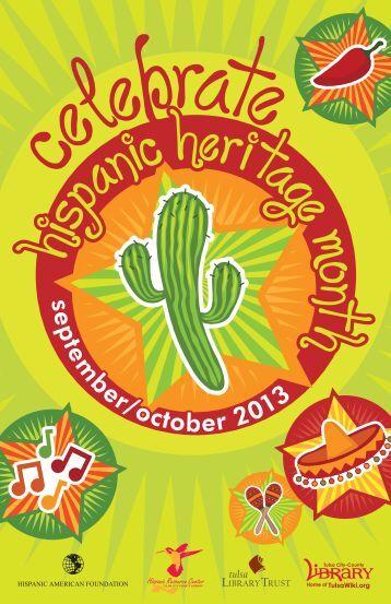 Hispanic Heritage Month Events 2013