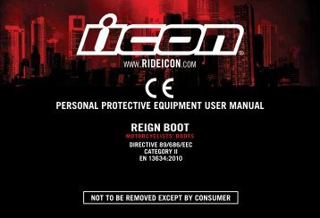 ICON® REIGN bOOT