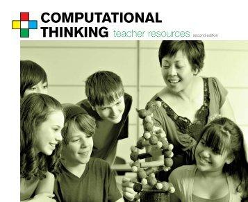 Computational Thinking Teacher Resources - CSTA