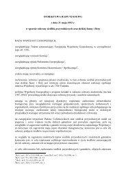DYREKTYWA RADY 92/43/EWG z dnia 21 maja 1992 ... - Natura 2000
