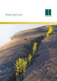 Annual report 2007 - Posiva Oy