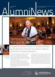 Symposium Honors Richard W. Hanson, PhD - Case Western ...