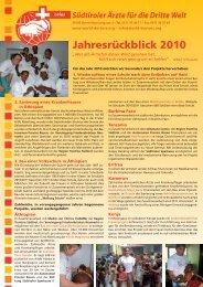 Bericht zum downloaden (pdf) - Südtiroler Ärzte für die Dritte Welt ...