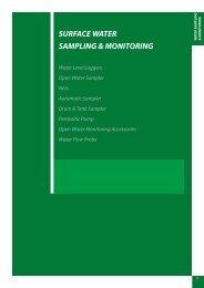 SURFACE WATER SAMPLING & MONITORING - Thermo Fisher