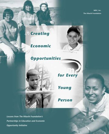 Creating Economic Opportunities for Every Young Person.pdf - MDC