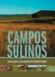 Campos Sulinos - conservação e uso sustentável da - Ufrgs
