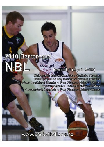 2010 Bartercard NBL Media Guide (Round Six) - Basketball New ...
