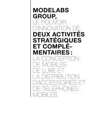 le téléphone mobile - Modelabs