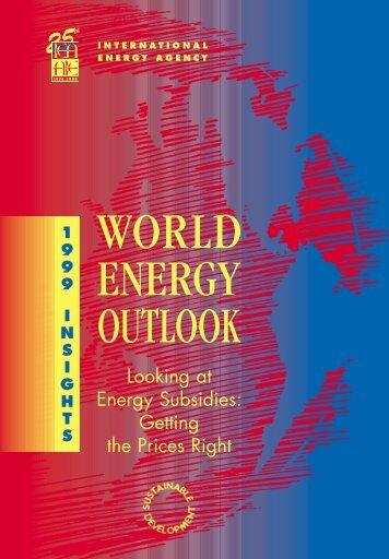 World Energy Outlook 1999