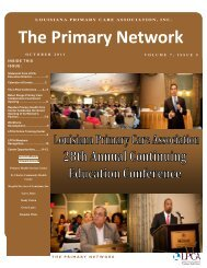 Primary Network October 2011 FINAL.pdf - Louisiana Primary Care ...