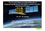 The mission of ALOS-2