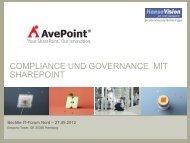 Compliance und Governance mit SharePoint - HanseVision Blog