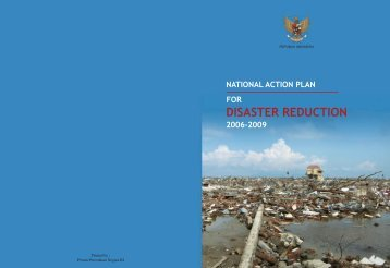 National Action Plan for Disaster Risk Reduction - UNDP
