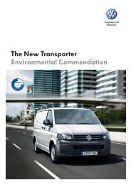 The New Transporter Environmental Commendation