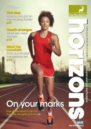 On your marks - Hertfordshire County Council