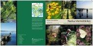 Nacka-Värmdökilen - SLL Tillväxt, miljö och regionplanering (TMR)