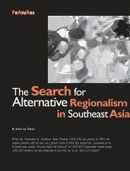 The Searchfor AlternativeRegionalism - Isis International Manila