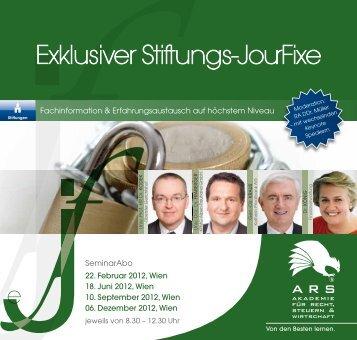 Exklusiver Stiftungs-JourFixe - Willheim | Müller