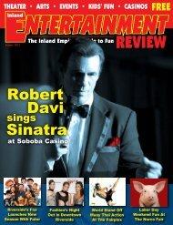 Robert Davi Sinatra - Inland Entertainment Review Magazine