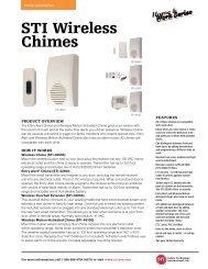 STI wireless chimes - ThomasNet